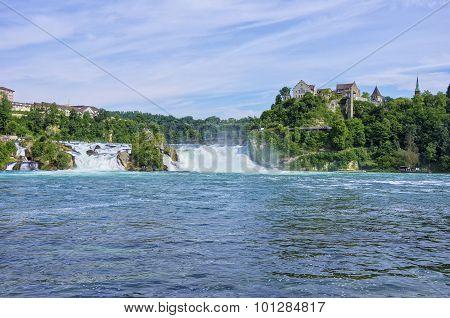 The Rine Falls