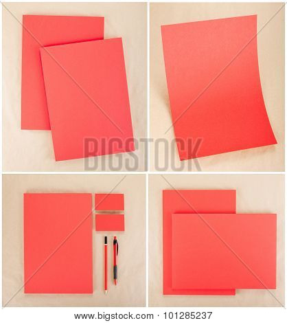 Stationery Set Design. Stationery Template. Corporate Identity