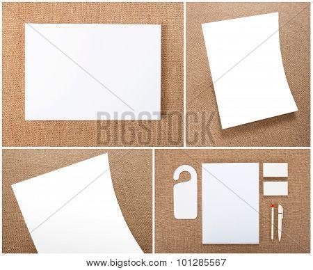Stationery Set Design. Stationery Template. Corporate Identity