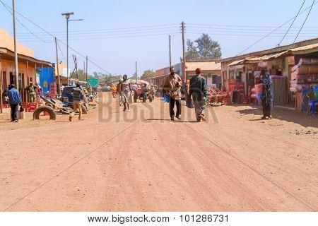 Street In Marsabit, Kenya