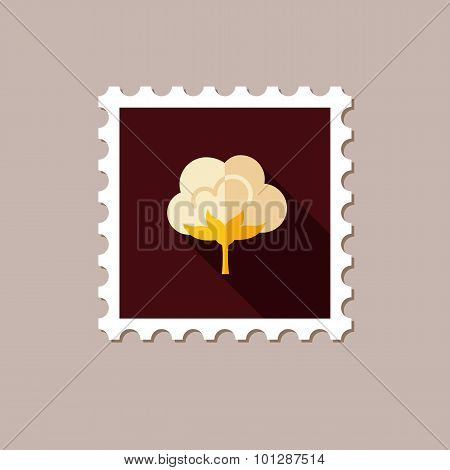 Cotton Flat Stamp With Long Shadow