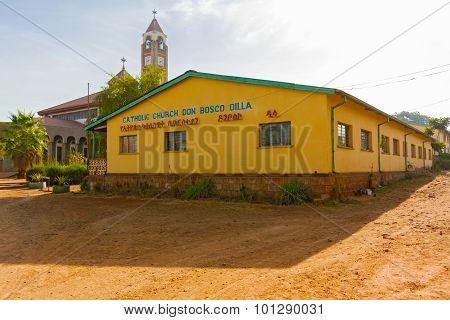 Catholic Church In Dilla, Ethiopia