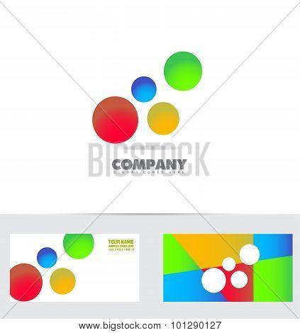 Bubble Colors Logo