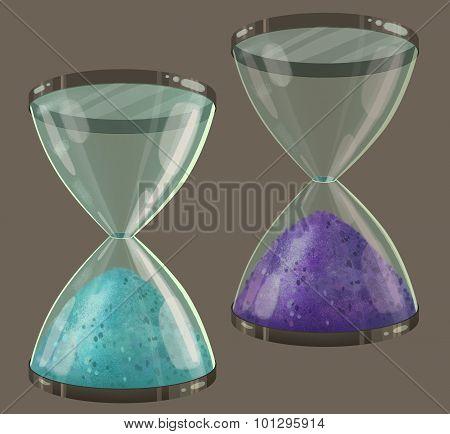 Colored Sand Clock