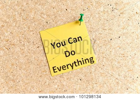 You Can Do Everything