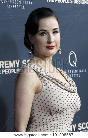 LOS ANGELES - SEP 8:  Dita Von Teese at the