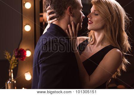 Attractive Passionate Couple