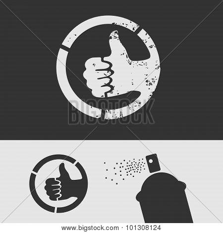 Symbol Stencil Like