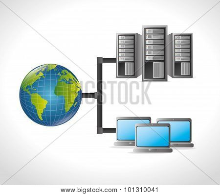 Data center and hosting