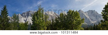 Zugspitze Massif, Highest German Mountains