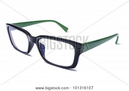 Black and Green Eye Glasses