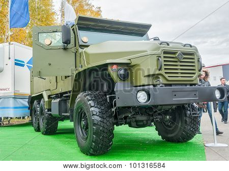 Armored truck of increased passability URAL-4320