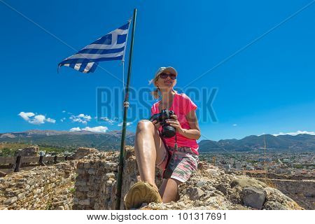 Tourist in Greece