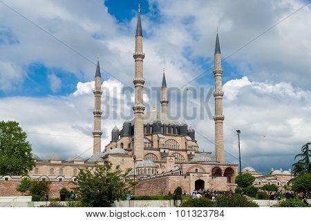 The Selimiye Mosque In Edirne, Turkey