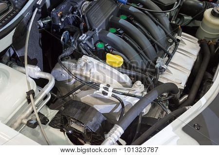 Details of  new car engine