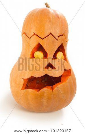 Scary Jack O Lantern halloween pumpkin