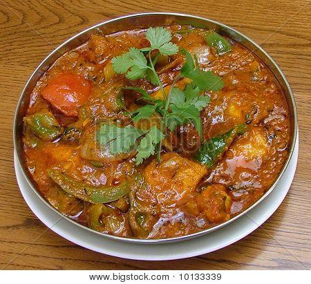 home made indian curry chicken rogan josh kashmir
