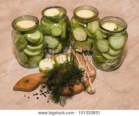 Canned Marrows