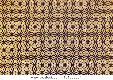 Gild Wallpaper In Alcazar Palace