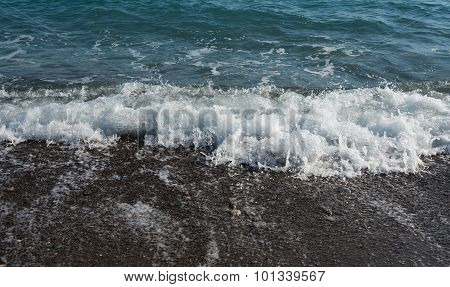 Seashore With Sea Waves
