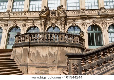 Zwinger Stairs