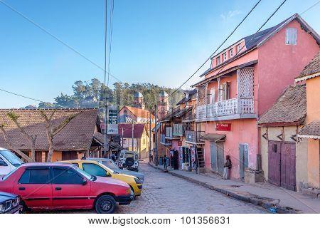 In The Streets Of Upper Town Fianarantsoa