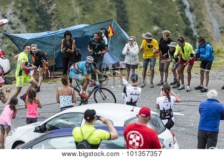The Cyclist Vincenzo Nibali - Tour De France 2015