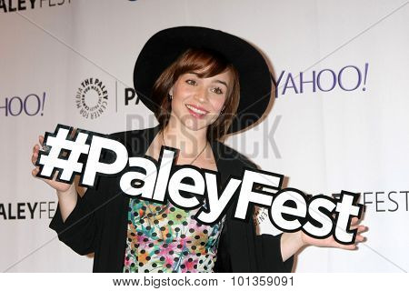 LOS ANGELES - SEP 11:  Renee Felice Smith at the PaleyFest 2015 Fall TV Preview - NCIS: Los Angeles at the Paley Center For Media on September 11, 2015 in Beverly Hills, CA
