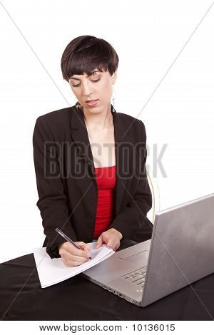 Taking Notes Computer