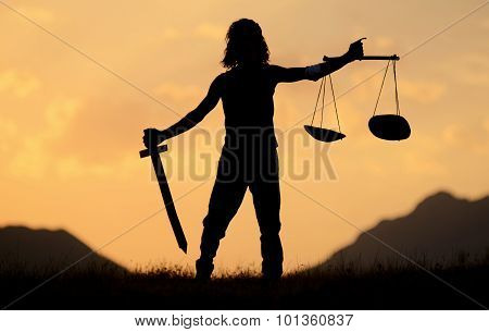 The symbol of justice