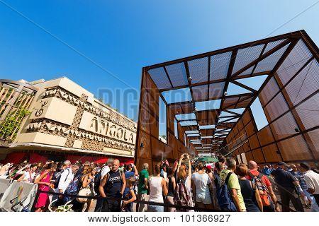 Angola And Brazil Pavilions - Expo Milano 2015