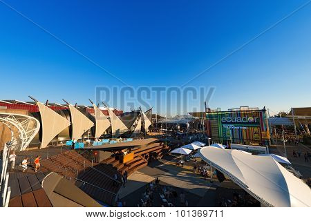 Pavilions At Expo Milano 2015