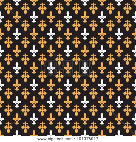 Royal Pattern - Lily Seamless Pattern
