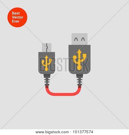 USB to mini USB extender