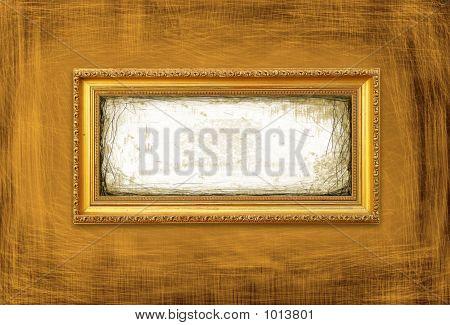 Gold&Grunge Style Frame
