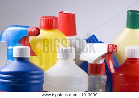 Several Cleaning Products