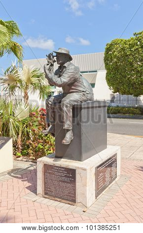 Sculpture Tradition In George Town Of Grand Cayman