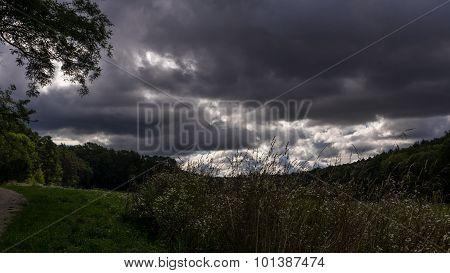 Landscape near Strelice