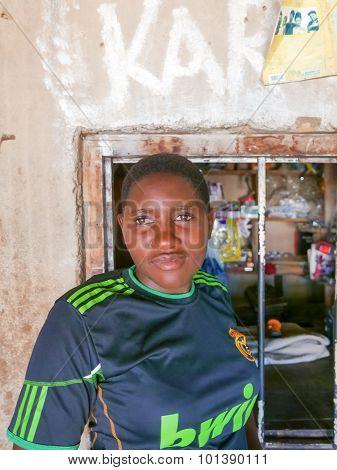 Woman In Tanzania