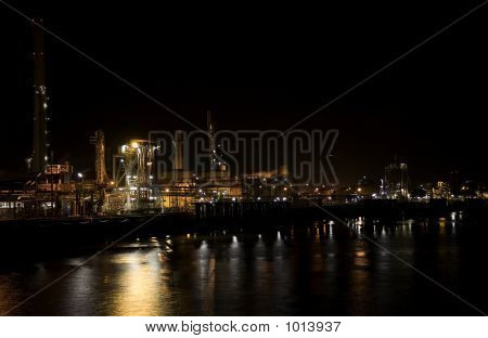 Refinery At Night 2