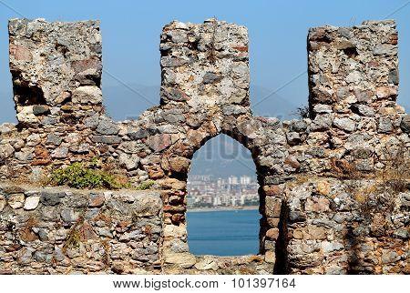 city walls in Turkey