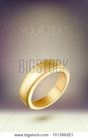 vector ring illustration