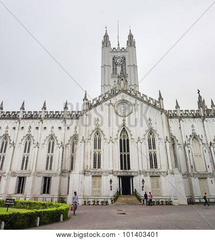 St. Paul's Cathedral Of Kolkata, India