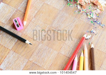 Wooden Colorful Pencils