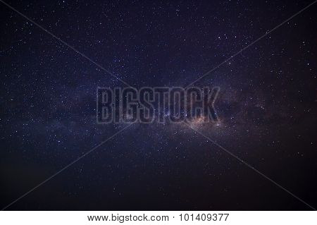 milky way galaxy, Long exposure photograph