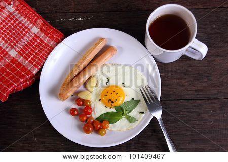 Bullseye Egg And Sausage