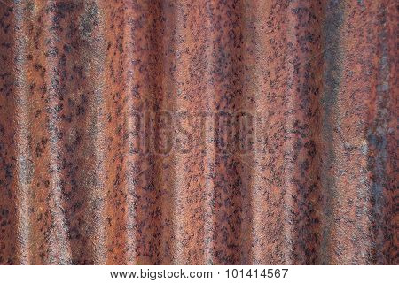 Rusted Corrugated Iron