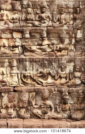 Terrace Of The Leper King, Angkor Wat, Cambodia