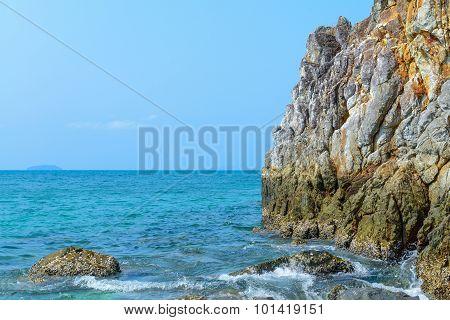 Beautiful View Of A Sea Shore