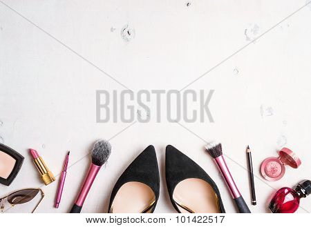 Feminine Cosmetic Background